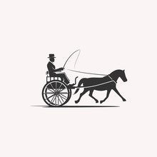 Horse Cart Rider