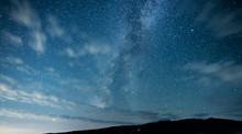 Beautiful Starry Sky With Brig...