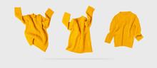 Yellow Orange Flying Women's A...
