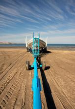 Puerto Piramides Beach, On Pen...