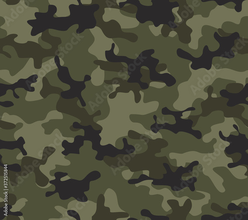 Fotografering Military texture camouflage mad army pattern classic khaki design
