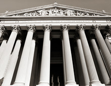Columns At National Archives
