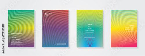 Fotografiet Minimal modern cover design