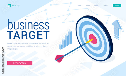 Photo Business target banner