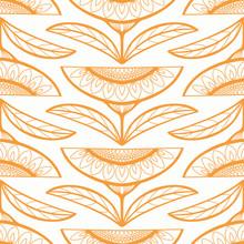 Sunflower Pattern Background. ...