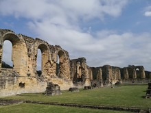 Ruins Of Byland Abbey English ...