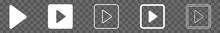 Play Button Icon White | Start...