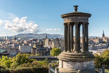UK, Scotland, Edinburgh, View ...