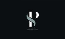 SP Or PS Letter Business Logo Design Alphabet Icon Vector Symbol