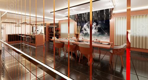 Fototapeta Diseño arquitectónico interior.