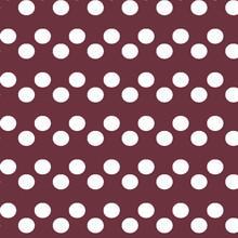 ROSY BROWN Polka Dots