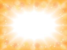暖色系の爆発した光の...