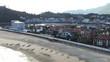 Ribadesella, coastal village of Asturias,Spain. Aerial Drone Footage