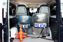 Set Of Protective Shields And ...