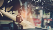 Car Camera With Blur Background