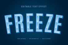 Decorative Freeze Font And Alp...