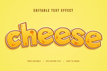 Decorative Cheese Sale Font An...