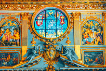 ROME, ITALY - MAY 08, 2017 : Inside The Basilica Of Santa Maria Maggiore (on Piazza Di Santa Maria Maggiore)-is  A Papal Major Basilica And The Largest Catholic Marian Church In Rome.Italy.