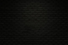 Old Black Bricks Wall Texture ...