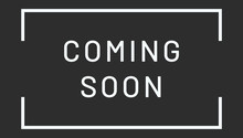 Coming Soon Web Sticker Button