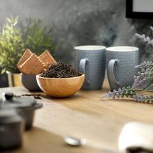 Tea On A Wooden Table In A Sun...
