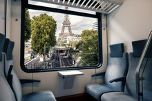 Paris Subway Seen From The Win...
