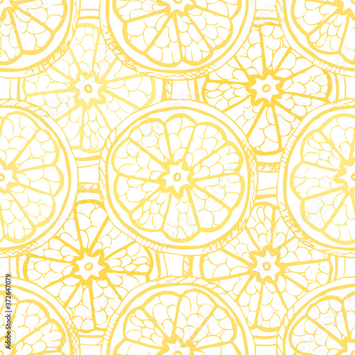 Stampa su Tela fruit seamless pattern