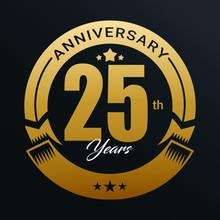 25th Anniversary Logo,1 Year A...