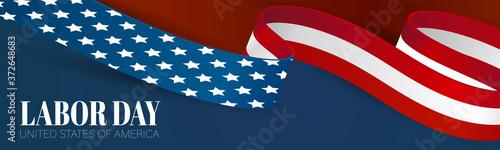 Fotografia, Obraz Labor Day banner
