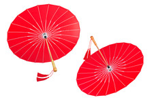 Chinese Red Umbrella