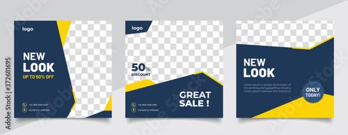 Fotomural special sale concept banner template design
