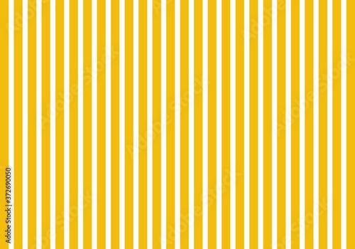 Estampado de rayas amarillas y blancas verticales Canvas Print
