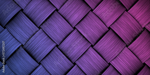 Fotografiet braided weaving texture wallpaper background backdrop