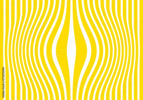 Obraz na plátně Secuencia de Barrotes forzados verticales amarillos