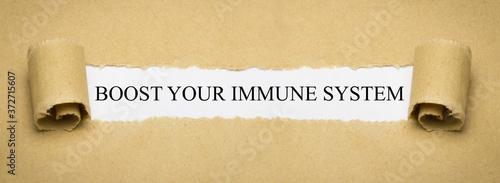 boost your immune system Fototapeta