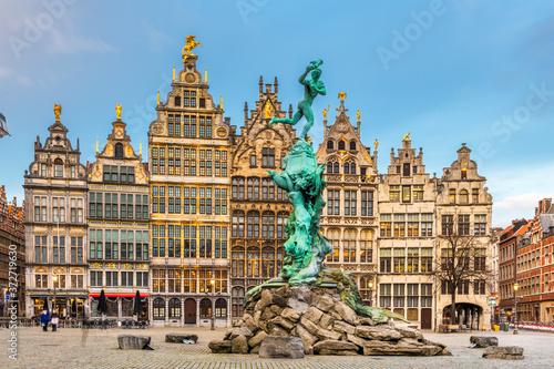 Photographie Antwerp, Belgium Cityscape