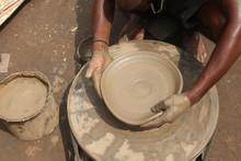 Clay Potter, Clay Molding, Man Plotter