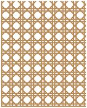 Natural Cane Webbing Effect Seamless Pattern