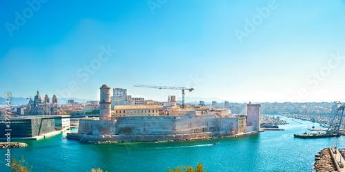The Fort St Jean, Marseille Fototapete