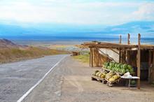 Armenia Roadside Fruit Vendors