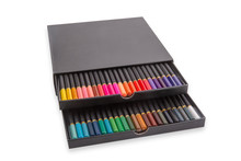 Box With Colorful Pencils