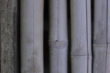Bamboo Wall Texture, Brazil.