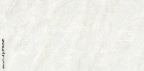 Obraz na plátně White marble natural pattern for background, abstract black and white
