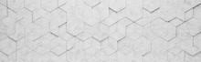 Light Gray Rhombus And Hexagon...
