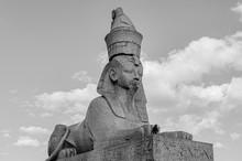 Ancient Stone Sphinx In Saint ...