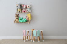 Table, Chairs With Bunny Ears ...