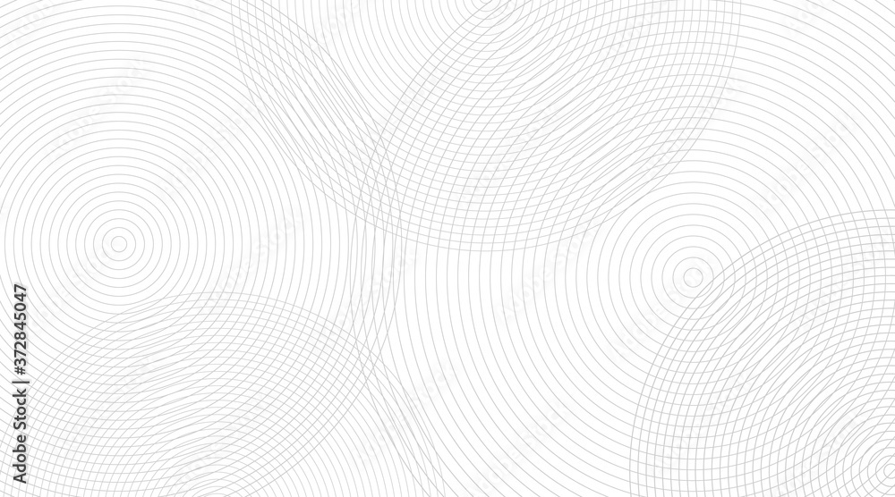 Fototapeta Black and white line pattern. soft background. Wave energy geometric design. Vector illustration.