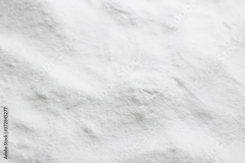 Pure baking soda as background, closeup view Fototapete