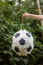 Handmade Pinata | Football Ball In A Hand