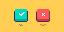 Do's And Don'ts Information Ve...